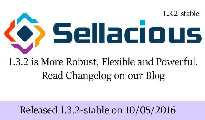 Sellacious Stable 1.3.2 Released - php7 and Joomla 3.5.x supported