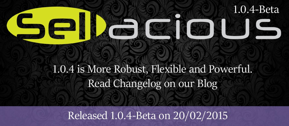 Sellacious Beta 1.0.4 Released